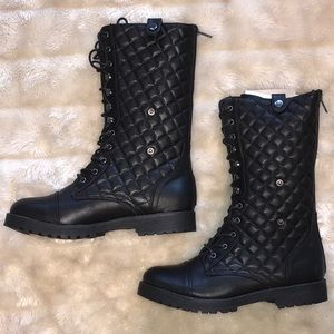 BRAND NEW BAMBOO Black Boots